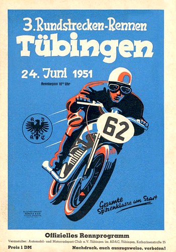 1951 Tubingen German Race by bullittmcqueen