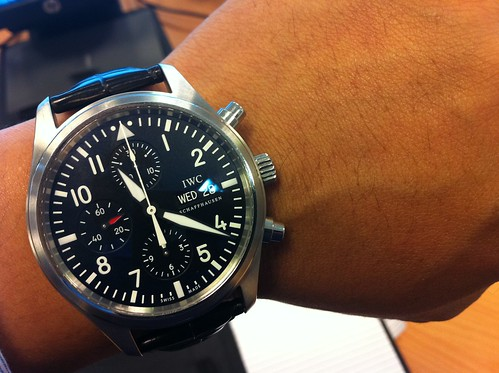 IWC 3717 Pilot's Watch Chronograph
