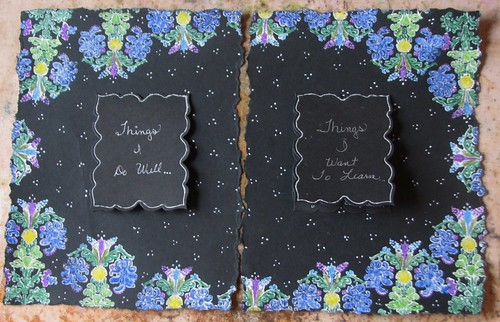 Art Journal #3 - Black Magic Pages 003