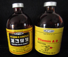 Injectable vitamins