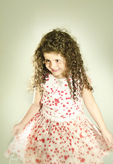 (Ebtesam.) Tags: red girl 50mm photo kid nikon dress curly saudi arabia jeddah 18 50 saudiarabia aljazi  nikond7000