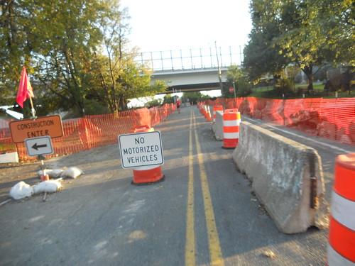 Wilson Bridge Trail Work
