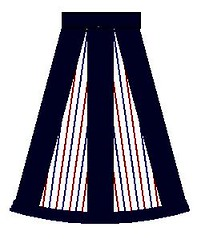 skirt with band