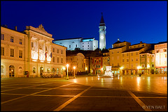Piran - Tartini Square | Tartinijev Trg at First Light (Yen Baet) Tags: plaza city travel alps classic church statue architecture buildings seaside twilight ancient europe mediterranean cityscape waterfront cathedral scenic eu landmark icon structure slovenia alpine promenade piazza piran baroque peninsula iconic adriaticsea istria slovak stpeterschurch slovinsko primorska slovene pirano giuseppetartini stgeorgecathedral traveldestination europeancities republikaslovenija piazzatartini tartinisquare tartinijevtrg slovenskaistra jadranskomorje republicofslovenia gulfofpiran slovenianlittoral istriaslovena