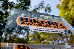 BikeBiz award for Bike Hub app