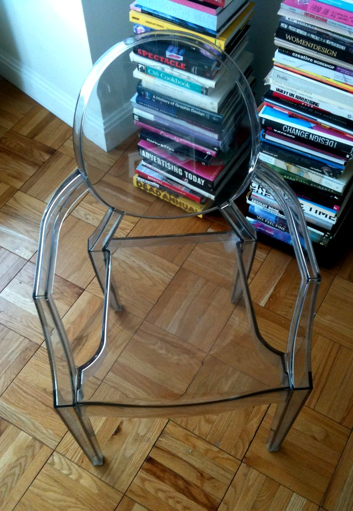 Ghost Chair Transparent by Philippe Starck