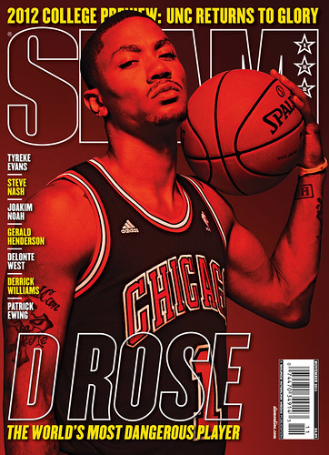Derrick Rose SLAM Magazine cover issue 152