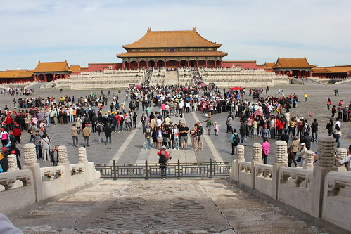 Forbidden City panorama by emaggie