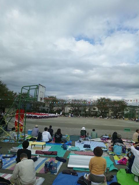 今日は子供の運動会ですの写真