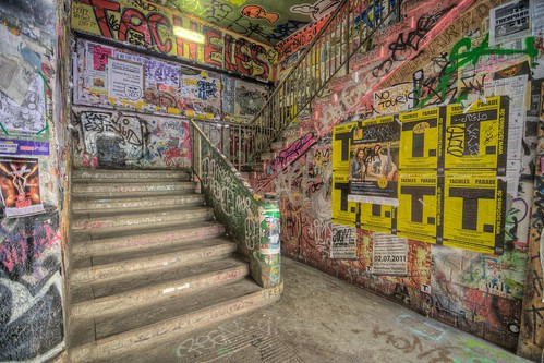 Stairs of Tacheles