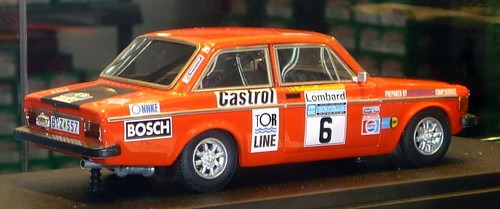 Arena Volvo 142 Rally Inghilterra
