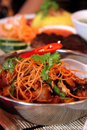 Basil padprik, Ning Malaysian Restaurant & Cookery School
