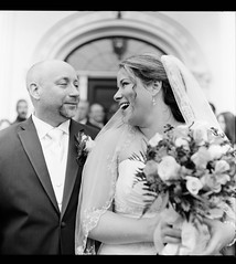 Lisa and Sean-2 (Ryan M Long Photography) Tags: wedding white black classic mamiya film photography long fuji kodak ryan m waters 100 mansion asa seiko f28 acros xtol 80mm c330