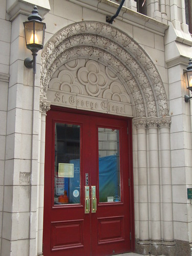 103 Washington Street - Saint George's Church Facade And Entrance