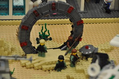 Numereji 2421: Stargate (Yupa-sama) Tags: lego display convention 2011 2421 brickcon numereji