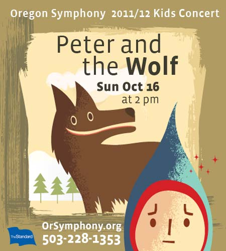 Peter and The Wolf Oregon Symphony