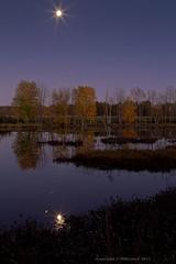Moon_Light_Reflection-01c (benchdog1) Tags: longexposure sunset newyork reflection fall creek river landscape autum brook ef2470mmf28lusm waterreflection slowshutterspeed wideanglelens llens reflectioninwater canoneos7d