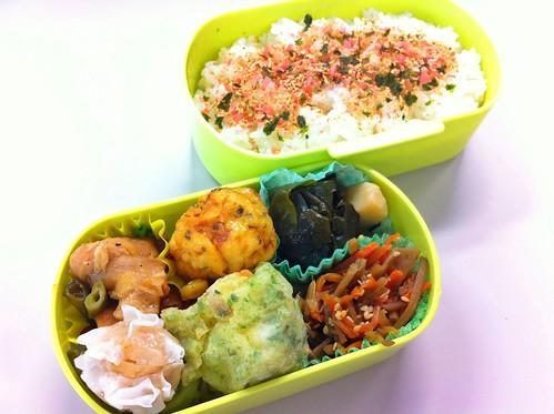 今日のお弁当 No.200 – 焼鮭