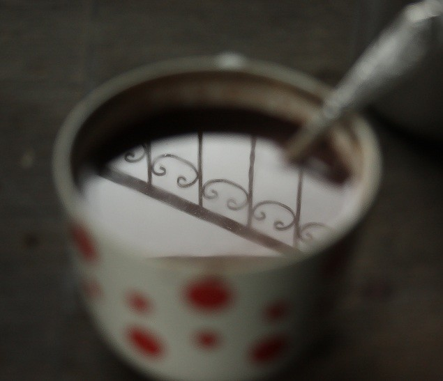 hot cacao drink