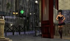 111008 - Cupcake: waiting the end of the rain (Izabel Muir) Tags: street old paris caf rain waiting pluie sl secondlife end fin rue vieux iza attente izabel muircastle izabelmuircastle