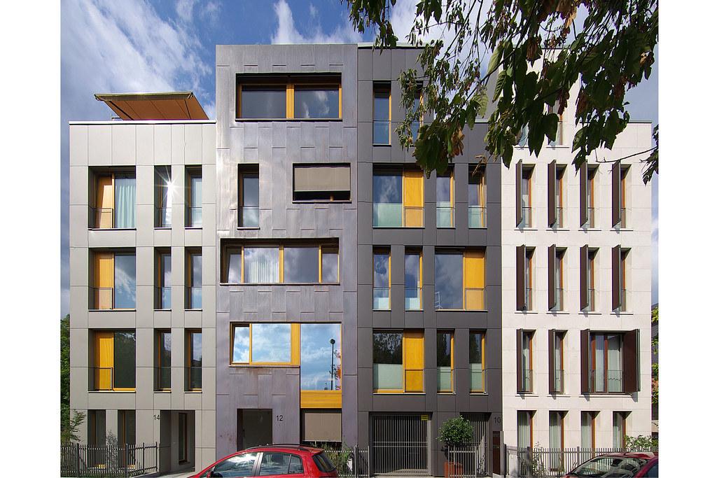 Elegant Wohnhäuser Schützengasse 11 09 17 4525 Panorama (esuarknitram) Tags:  Dresden Reihenhaus