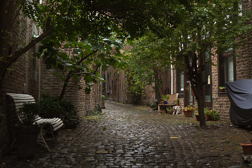 Liege's tiny alley