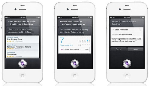 Apple - iPhone 4S - Ask Siri to help you get things done.