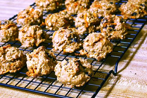 Sweet Potato Cherry Breakfast Cookies