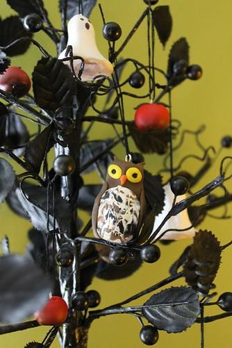 Halloween Tree - owl