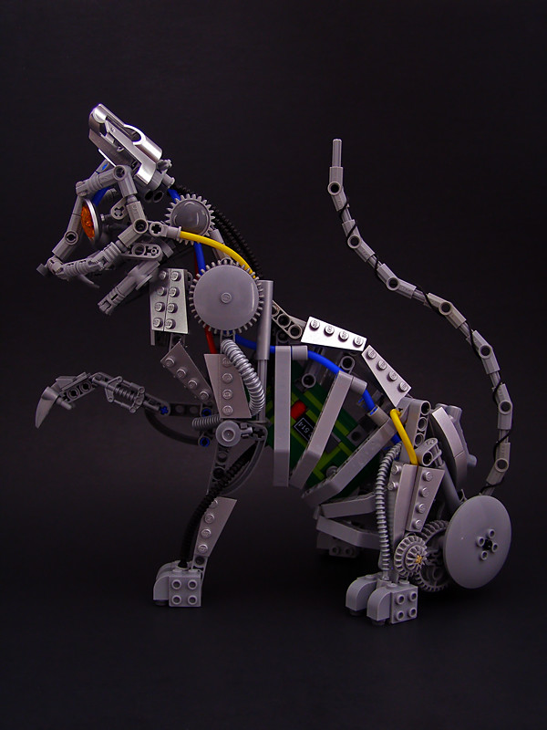 Robot Cat 02