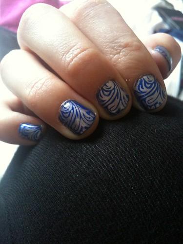 nail art look