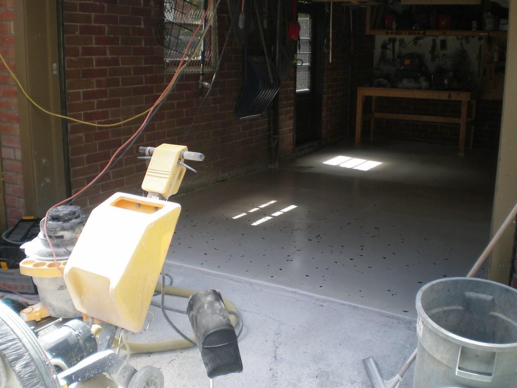 plancher de béton SANS EPOXY