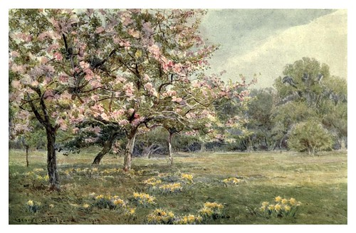 001-Manzanos en flor-The garden that I love-1906-George S. Elgood