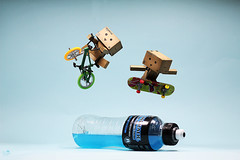 Sport To Go - Second And Last Time (Senzio Peci) Tags: blue italy bike sport toy amazon italia skateboard sicily sicilia paterno powerade danbo senziopeci