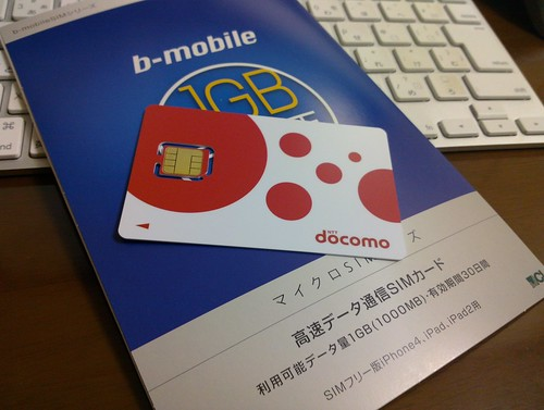 b-mobile 1GB microSIM