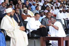 President Kagame attends Inauguration of the new Mufti of Rwanda Abdulkarim Gahutu- Kigali, 18 October 2011