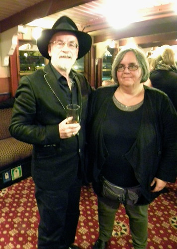Terry Pratchett and Bookwitch