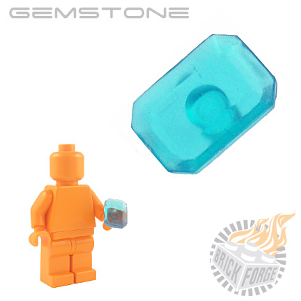 Gemstone - Trans Light Blue (Aquamarine)