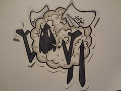 wtf!? (mønsterdestrøyer) Tags: stickerart stickers sheap 2011 jx jaecs humanature jerix jaecks jerixthekid jaex jaeqs