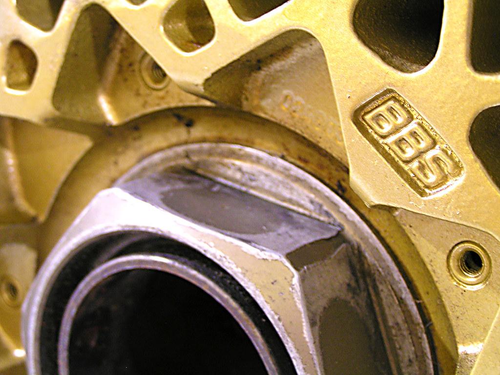 DJR  BBS Racing wheel