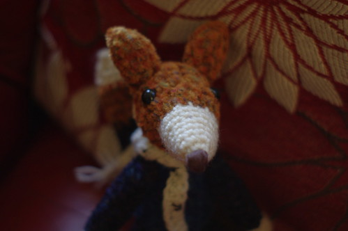 amigurumi #31 fox's clone 1