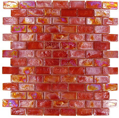 garnet1 (Bmosaics Store) Tags: glass tile mosaic collection rippled tubsurround backsplash