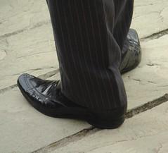Magician's feet