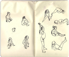 gymnastics2 (marin71) Tags: art sketch drawing urbansketchers