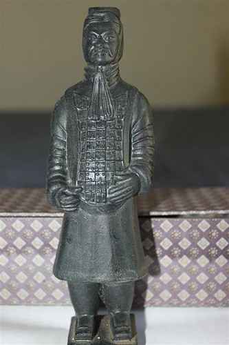 Miniature Terra-cotta warrior souvenir