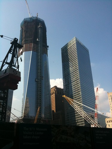 World Trade Center Freedom Tower, nearing completion