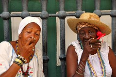 Smoking ladies (marinfinito) Tags: cuba cigars lahabana lahavana smokingladies