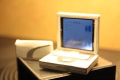 "Dollhouse miniature ""working"" laptop."