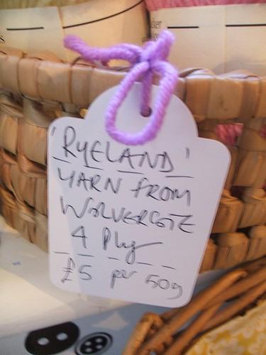 Wolvercote yarn