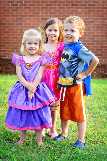 super hero and princesses